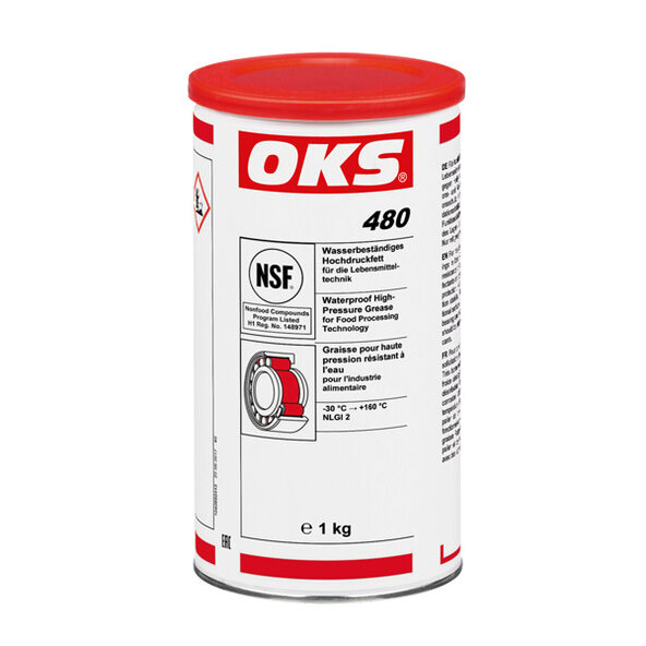 OKS 480 - Waterproof High-Pressure Grease for Food Processing Technology
