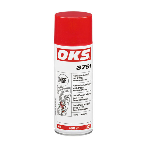 OKS 3750 / 3751 Adhesive Lubricant with PTFE – now MOSH/MOAH-free