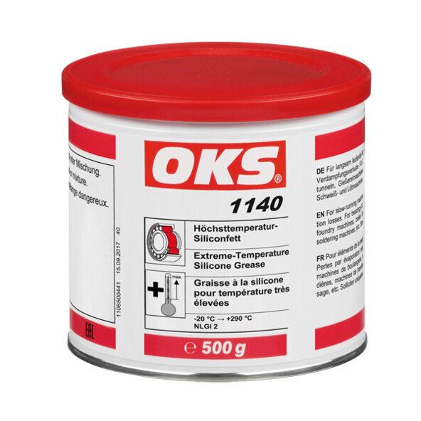 Oks 1140 Extreme Temperature Silicone Grease Oks Spezialschmierstoffe Gmbh