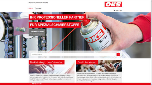 State of the Art: Neue OKS Website mit integriertem Online Shop