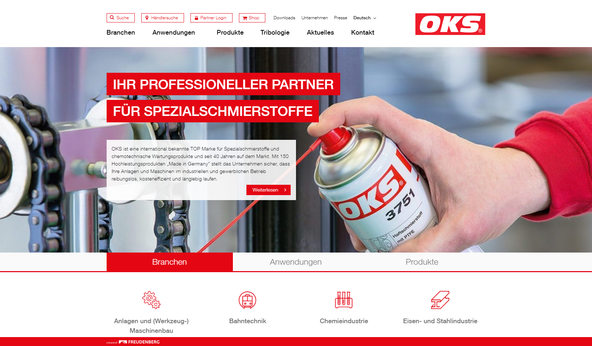 State of the Art: OKS mit neuer Website