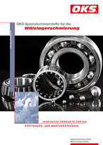 Folder OKS Speciality lubricants for Rolling bearing lubrication
