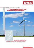 Folder: Speciality lubricants - examples of use for wind energy plants