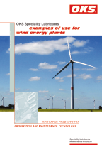 Folder Speciality lubricants - examples of use for wind energy plants