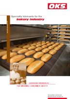 Folder OKS Speciality lubricants for the bakery industry