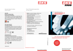 Product flyer OKS 2200 - Water-based corrosion protection, voc-free