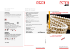 Product flyer OKS 451 – Chain and adhesive lubricant