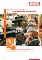 Catalogue Chemotechnical Products for industrial maintenance and assembly